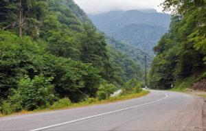 На горной дороге в Северной Осетии произошло ДТП