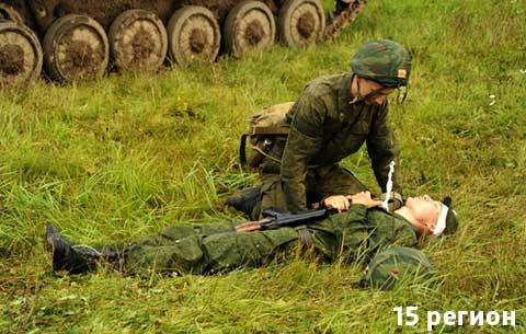 В Северной Осетии прошли сборы военных медиков