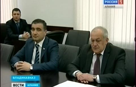 Глава Северной Осетии Таймураз Мамсуров встретился с председателем российского еврейского конгресса Юрием Каннером