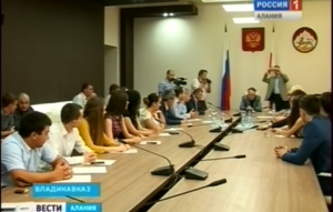 Александр Тотоонов встретился с представителями молодежного парламента Северной Осетии