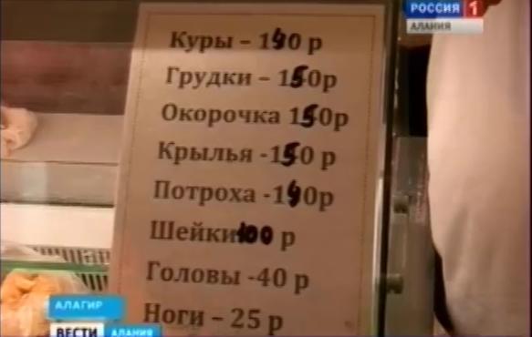 Профсоюзы Северной Осетии просят принять меры по сдерживанию роста цен