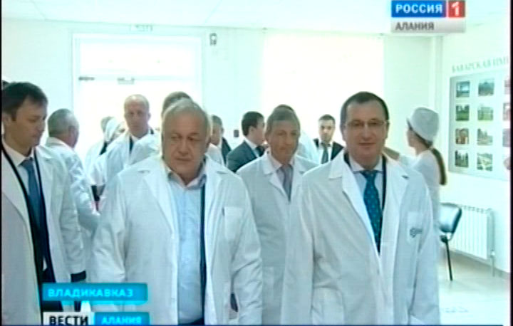 Министр сельского хозяйства России Николай Федоров посетил биотехнологический комплекс «ФАТ-Агро» в Северной Осетии
