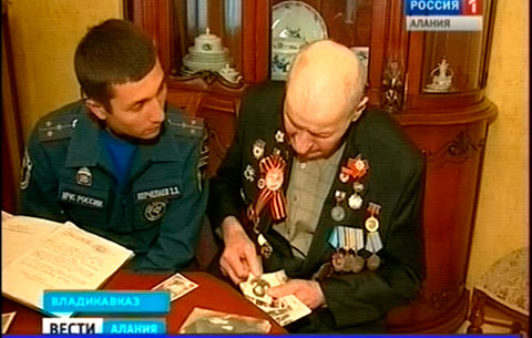 Ветеран Великой Отечественной войны Батарбек Керчелаев вспоминает боевые будни