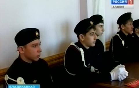 В АМС Владикавказа чествовали участников автопробега «Наша великая победа»