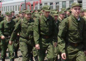Первые команды призывников из республик Северного Кавказа отправляются в войска