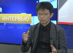 Интервью. Катсуми Такизава