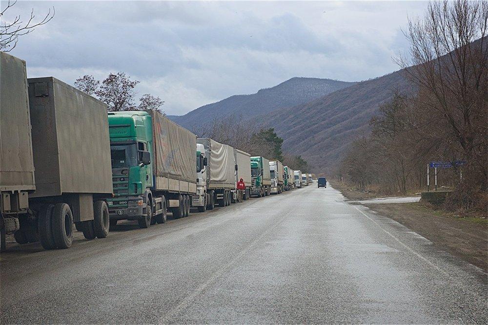 Военно-Грузинская дорога открыта для легковушек