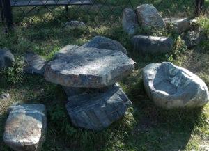 Вокруг Алании. Чашечные камни