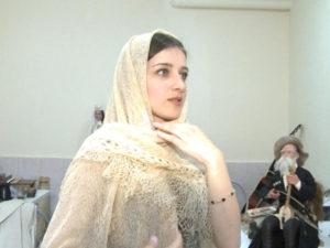 Лучшее в жизни. Шелковый платок в национальном стиле. Мадина Хуриева