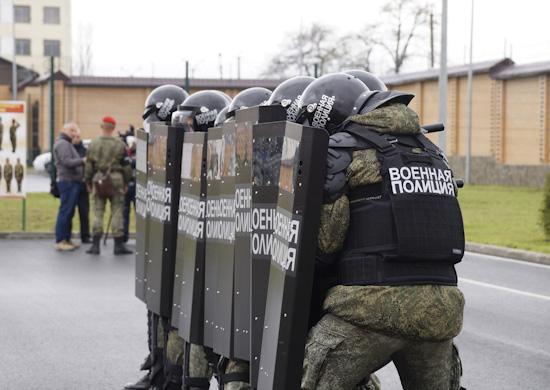 В учебном центре военной полиции ЮВО во Владикавказе состоялся выпуск курсантов