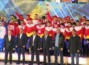 Фестиваль культуры и спорта народов Кавказа. Закрытие
