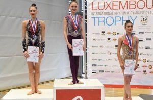 Эсмиральда Абаева стала серебряным призером международного турнира по художественной гимнастике