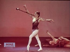 Светлана Адырхаева. Фрагмент из балета «Спартак»