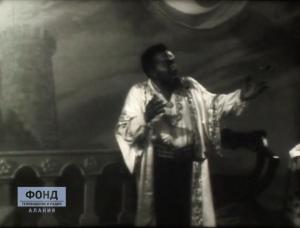 Бало Тхапсаев. Фрагмент из спектакля «Отелло»