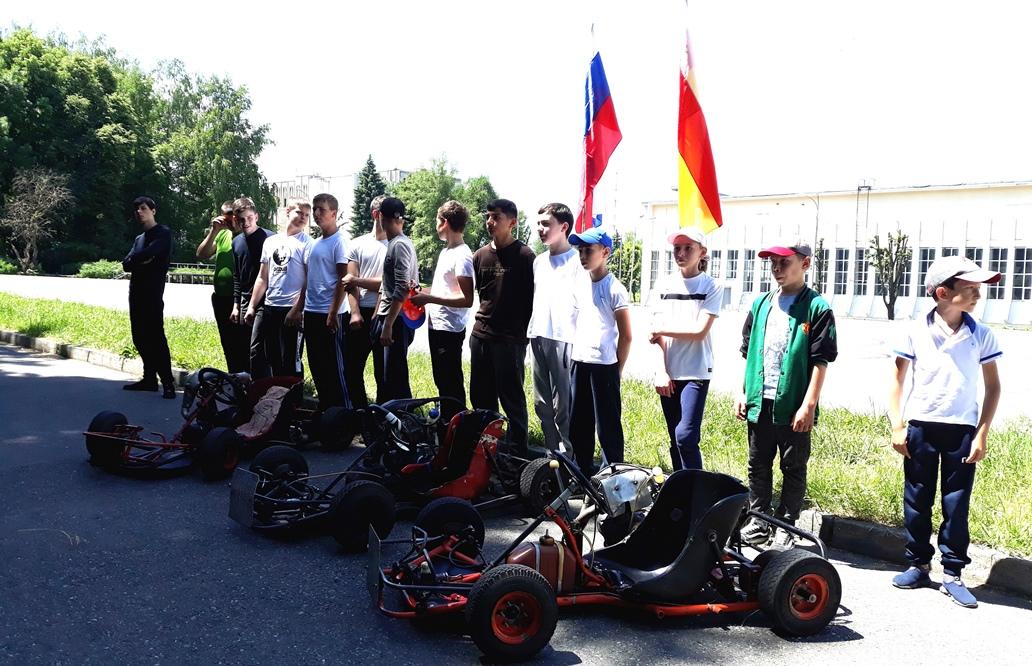 В Северной Осетии прошел турнир по картингу