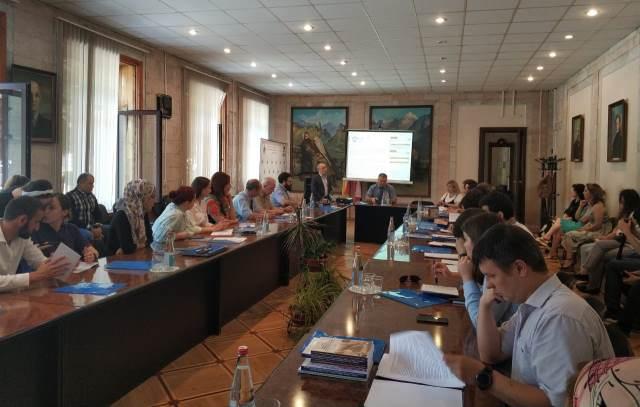 Во Владикавказе открылась школа-конференция молодых ученых Северной и Южной Осетии