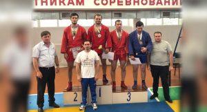 Самбисты из Северной Осетии взяли пять наград на всероссийском турнире