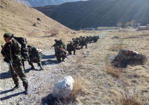 Разведчики соединения ЮВО из Волгоградской области завершили горную подготовку в горах Северной Осетии