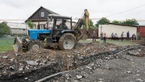 В Верхней Санибе после реконструкции запущен в работу участок водопровода