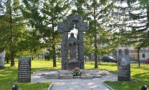 Делегация Северной Осетии возложила цветы к памятнику жертвам бесланской трагедии в Санкт-Петербурге
