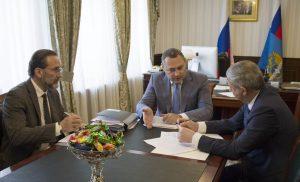 Вячеслав Битаров обсудил с замминистра транспорта РФ развитие дорожно-транспортной сферы республики