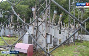 В Алагире проводится масштабная реконструкция электросетей