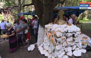 В селении Балта отметили грузинский народный праздник «Ломисоба»