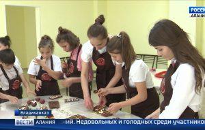 Воспитанники детдома «Хуры тын» на один день превратились в шоколатье