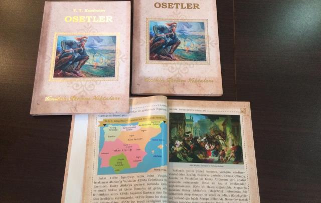 Тысяча экземпляров книги «Осетины. Вехи истории» на турецком языке будут переданы осетинской диаспоре в Турции