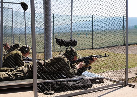 Во Владикавказе стартовал чемпионат сухопутных войск среди общевойсковых объединений ВС РФ