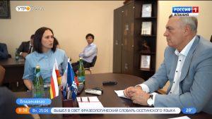 Борис Албегов провел очередной прием граждан