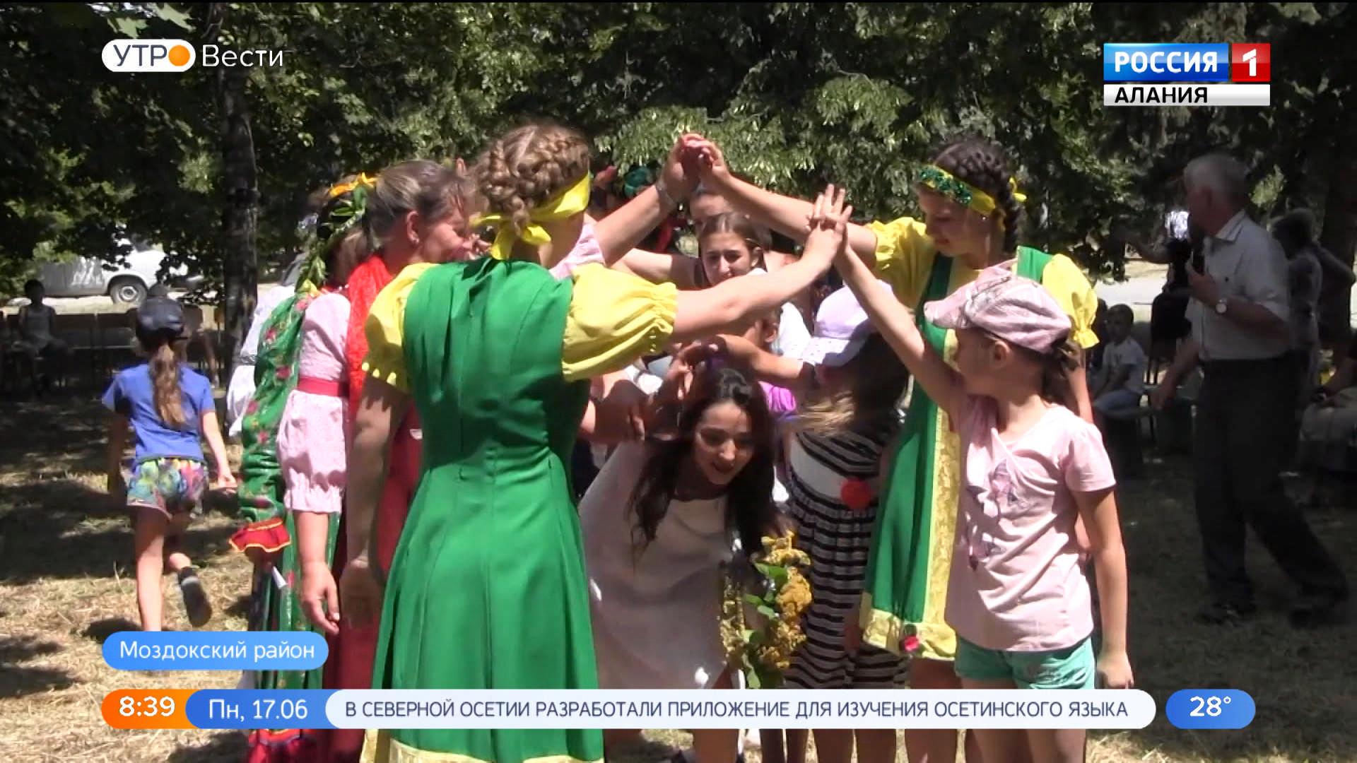 Православные отметили праздник Святой Троицы