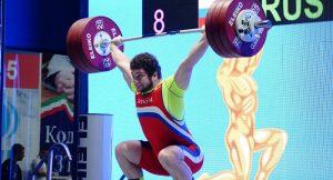 Тимур Наниев – чемпион России по тяжелой атлетике, Дмитрий Гогичаев – серебряный призер