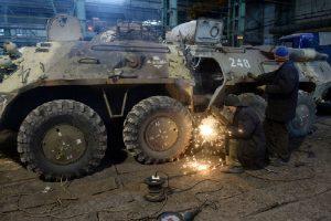 Завод по ремонту БТР и танков во Владикавказе получит заказ на 200 млн рублей