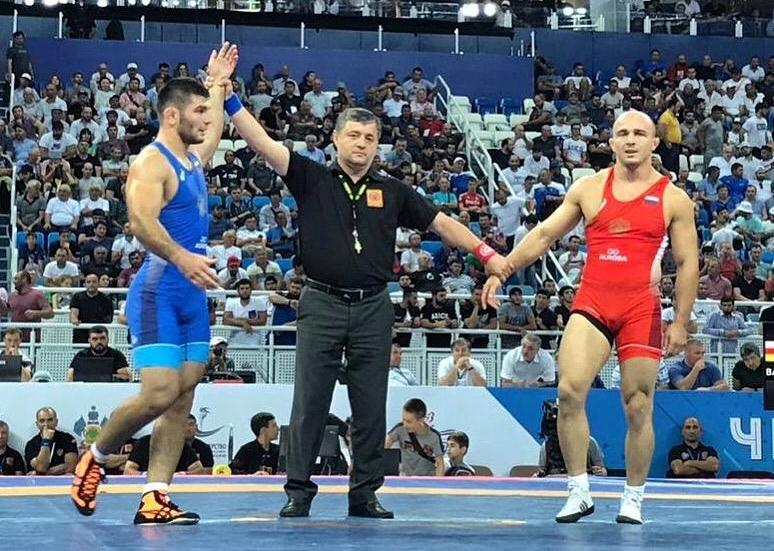 Артур Найфонов и Владислав Байцаев — чемпионы России по вольной борьбе — 2019
