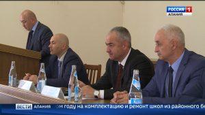 Таймураз Тускаев провел совещание по вопросам социально-экономического развития Дигорского района
