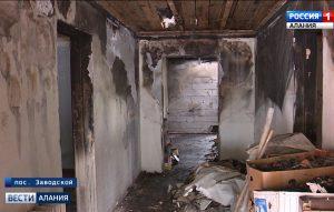 Жильцы одного из домов в с/т «Локомотив» второй месяц ночуют на улице после пожара