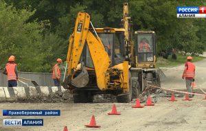 Началась реконструкция автодороги «Кавказ» на участке Хурикау — Малгобек — Моздок
