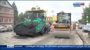Представители Общественной палаты республики проинспектировали ход дорожных работ во Владикавказе