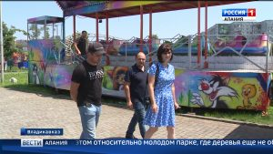 Эксперты ОНФ проинспектировали карусели в парках Владикавказа и Беслана