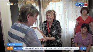 Почетный гражданин Моздока Ираида Кунич отметила 90-летие