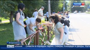 В Северной Осетии прошел традиционный субботник
