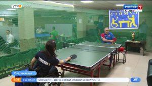 Во Владикавказе прошел турнир по настольному теннису среди инвалидов-колясочников