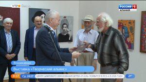 Во Владикавказе проходит выставка «новобранцев» Союза художников России