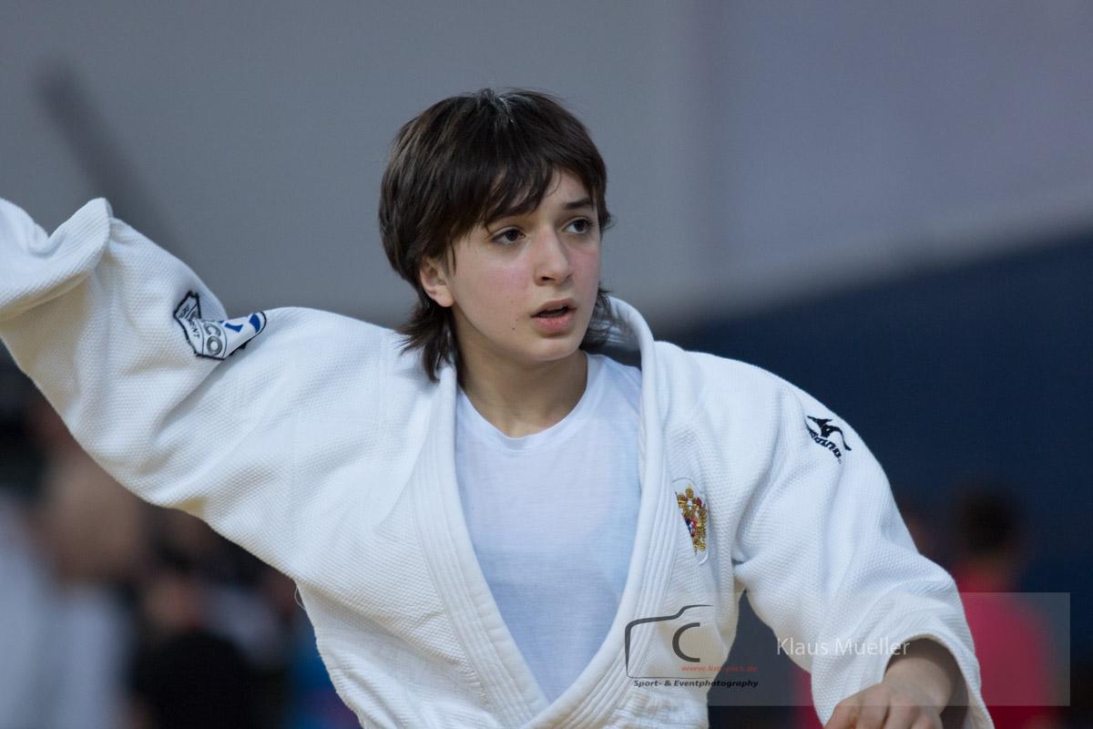 Ирэна Хубулова выиграла кубок Европы по дзюдо