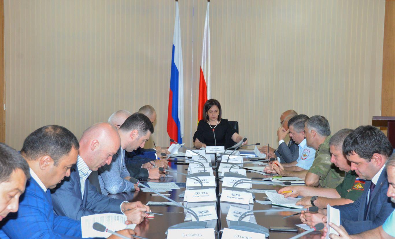 Во Владикавказе обсудили празднование Дня республики и Дня города