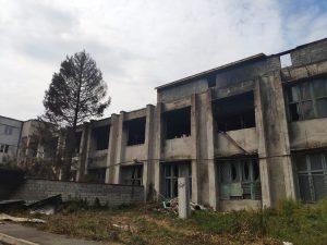 Пожар на складе на пр.Доватора полностью ликвидирован