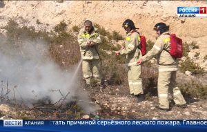 В Северной Осетии ожидается высокая пожарная опасность в лесах