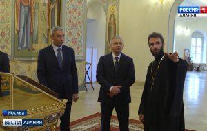 В рамках рабочей командировки в Москве Вячеслав Битаров посетил Храм Рождества Пресвятой Богородицы на Кулишках