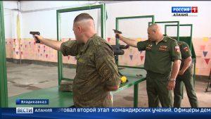 В штабе 58-й армии стартовал второй этап командирских учений